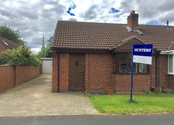 Thumbnail 2 bedroom semi-detached bungalow to rent in Bravener Court, Newton On Ouse, York