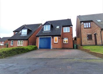 Thumbnail 3 bed detached house for sale in Devonia Road, Oadby, Leicester