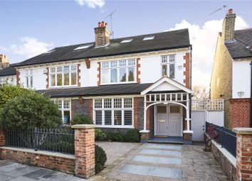 Church Road, Barnes, London SW13. 5 bed semi-detached house for sale