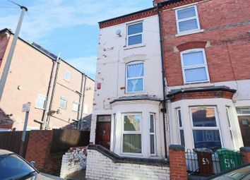 Thumbnail 4 bedroom end terrace house for sale in Wimbourne Road, Radford, Nottingham