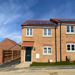 Thumbnail 3 bed semi-detached house for sale in The Nettleham, (Plot 25) Wardentree Lane, Pinchbeck, Spalding
