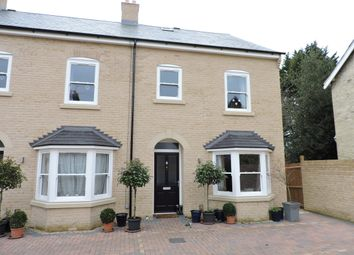 Thumbnail 4 bed end terrace house to rent in White Hart Lane, Ely, Cambridgshire United Kingdom