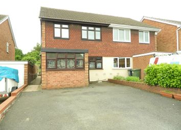 Thumbnail 3 bed semi-detached house for sale in Martin Drive, Willenhall