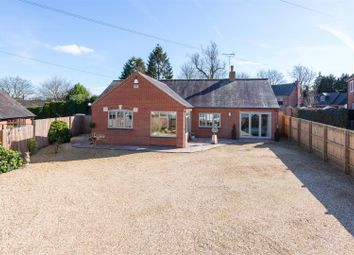 Thumbnail 3 bed bungalow for sale in Church Walk, Bruntingthorpe, Lutterworth
