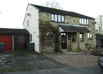 Thumbnail 3 bed semi-detached house for sale in Woodlands Close, Denby Dale, Huddersfield