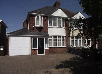 Thumbnail 3 bed semi-detached house for sale in Bentley Road, Castle Bromwich, Birmingham
