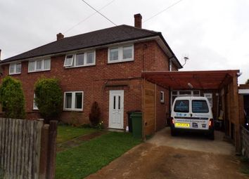 Thumbnail 3 bed semi-detached house for sale in Outwell, Norfolk