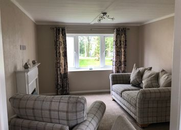 Thumbnail 1 bed mobile/park home for sale in Warrington Road, Bartington, Northwich