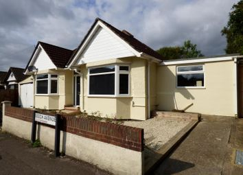 Thumbnail 3 bed detached bungalow to rent in Beech Avenue, Southampton