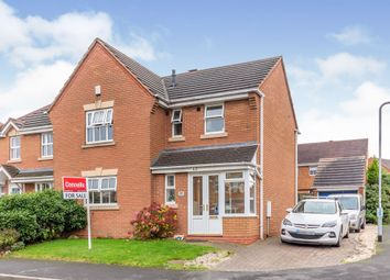 Thumbnail 3 bed detached house for sale in Foxtail Way, Wimblebury, Cannock