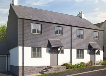 "Thumbnail 3 bedroom semi-detached house for sale in ""The Bucklington"" at Blackawton, Totnes"
