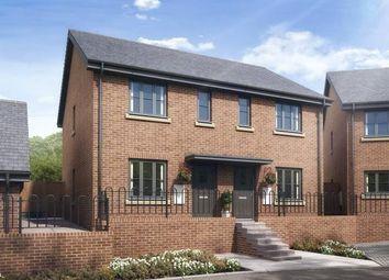 Thumbnail 2 bedroom semi-detached house for sale in Dyrham Place, Oakham, Rutland