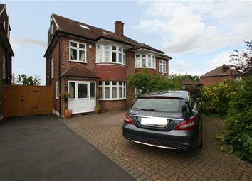 Thumbnail 4 bed semi-detached house to rent in Brookside South, East Barnet, Barnet