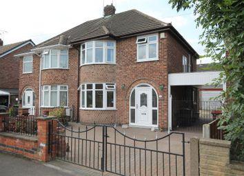Thumbnail 3 bedroom semi-detached house for sale in Westland Avenue, Hucknall, Nottingham