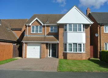 Thumbnail 4 bed detached house for sale in 28 Walsingham Drive, Corby Glen, Grantham, Lincolnshire