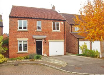 Thumbnail 4 bed detached house for sale in Turkhan Close, Thirsk