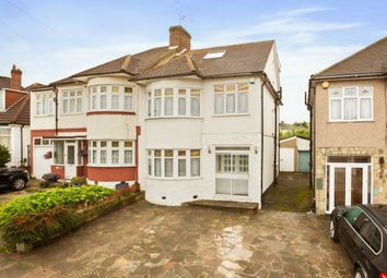 Thumbnail 5 bed semi-detached house for sale in Stradbroke Grove, Clayhall, Ilford