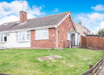 Thumbnail 2 bedroom semi-detached bungalow for sale in Dart Close, Oadby, Leicester