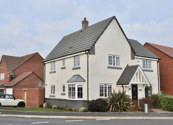 Thumbnail 4 bed detached house for sale in Sunset Way, Evesham