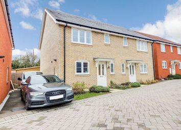 Thumbnail 3 bed semi-detached house for sale in The Pastures, St. Neots
