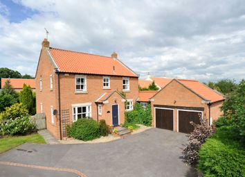 Thumbnail 4 bed detached house for sale in Stonegate, Whixley, York