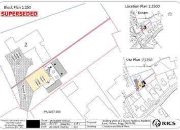 Thumbnail Land for sale in Maltkiln Lane, Elsham, Brigg, North Lincolnshire