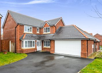 Thumbnail 4 bed detached house for sale in St. Francis Close, Prestatyn