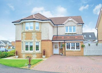 Thumbnail 4 bed detached house for sale in Toftcombs Avenue, Stonehouse, Larkhall