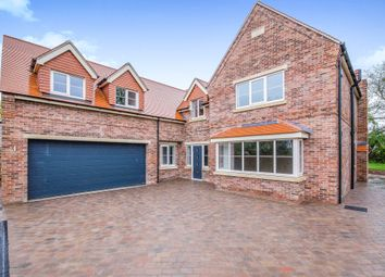 Thumbnail 5 bedroom detached house for sale in Grange Road, Bessacarr, Doncaster
