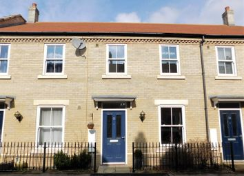 Thumbnail 2 bed terraced house for sale in Kipling Crescent, Fairfield, Hitchin