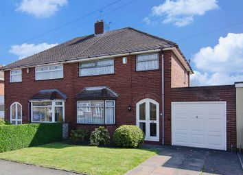 Thumbnail 3 bedroom semi-detached house for sale in Belton Avenue, Wednesfield, Wolverhampton