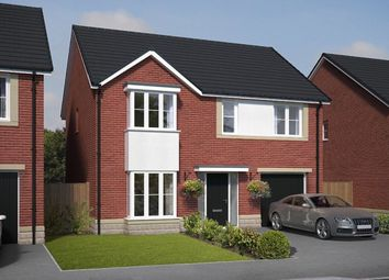 Thumbnail 4 bed detached house for sale in Bassington Manor, Cramlington, Cramlington