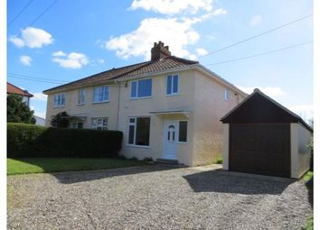 Thumbnail 3 bed semi-detached house for sale in Frenze Road, Diss