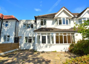 Thumbnail 4 bed semi-detached house to rent in Kinnaird Avenue, London