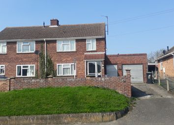 Thumbnail 3 bed semi-detached house for sale in Hall Lane, Burwell, Cambridge