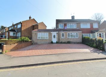Thumbnail 4 bedroom semi-detached house to rent in Riverview Road, Greenhithe