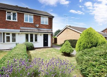Thumbnail 2 bed semi-detached house for sale in Isis Close, Lympne, Kent