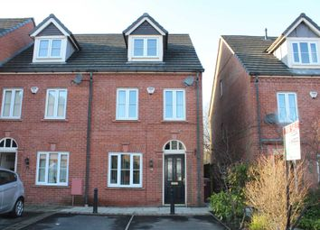 Thumbnail 3 bedroom town house for sale in Hallbridge Gardens, Bolton