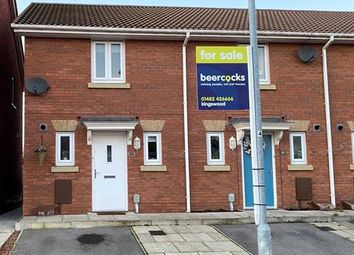 Thumbnail 2 bed end terrace house for sale in Dovestone Way, Kingswood, Hull, East Yorkshire