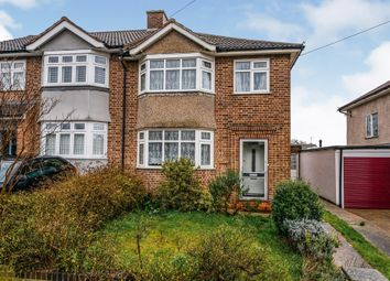 Thumbnail 3 bed semi-detached house for sale in Graham Avenue, Broxbourne