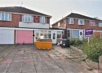 Thumbnail 3 bed semi-detached house for sale in Perry Park Crescent, Great Barr