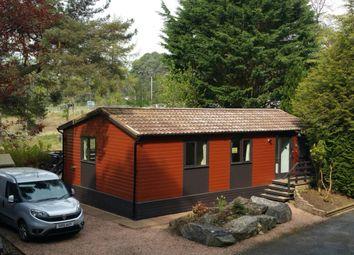 Thumbnail 2 bed lodge for sale in Mallard Lodge, Invertilt Road, Bridge Of Tilt, Pitlochry
