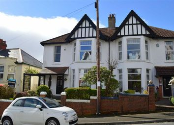 Thumbnail 4 bedroom semi-detached house for sale in Queens Road, Swansea
