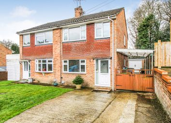 Thumbnail 3 bed semi-detached house for sale in Abbey Way, Farnborough