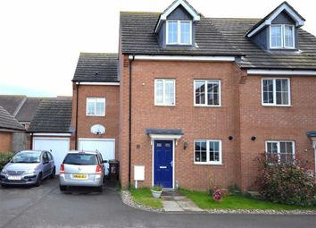 Thumbnail 4 bed semi-detached house for sale in Flycatcher Road, Corby, Northamptonshire