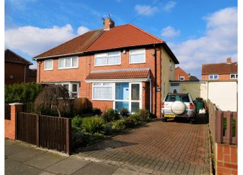 Thumbnail 3 bed semi-detached house for sale in Aycliffe Avenue, Gateshead