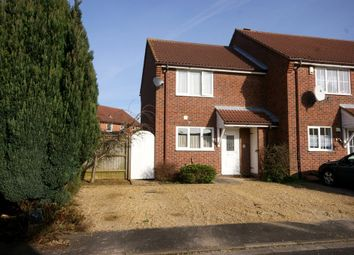 Thumbnail 2 bed end terrace house for sale in Grevel Close, Spalding