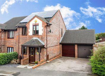 Thumbnail 3 bedroom semi-detached house for sale in Sweetlands Corner, Kents Hill, Milton Keynes