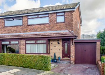 Thumbnail 3 bed semi-detached house for sale in Clevedon Drive, Wigan