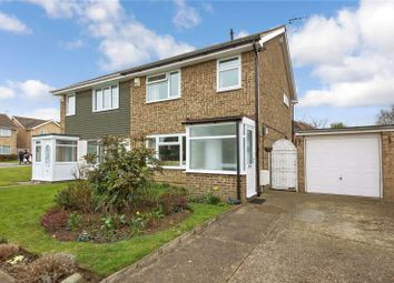 Thumbnail 3 bed semi-detached house for sale in Milton Avenue, Cliffe Woods, Kent